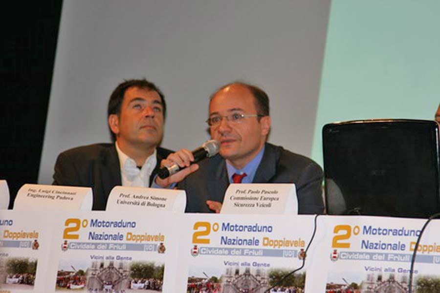 AMI al Convegno 'La Lama Che Uccide. E' Possibile Rendere Sicure le Nostre Strade?' - Cividale del Friuli (UD) 29 Giugno 2008 - Prof. Andrea Simone