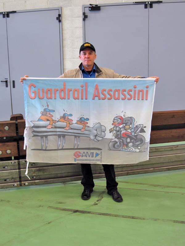 Guard Rail Assassini - Marco Guidarini, presidente di AMI, Associazione Motociclisti Incolumi