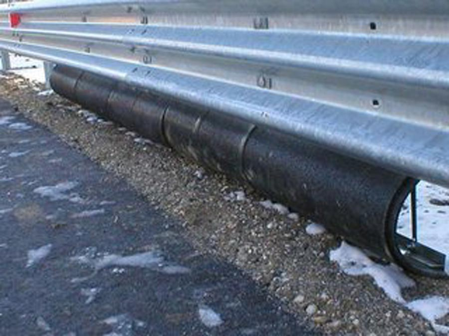 Guard Rail Salva-Motociclisti Soft Curb della Cincinnati Engineering
