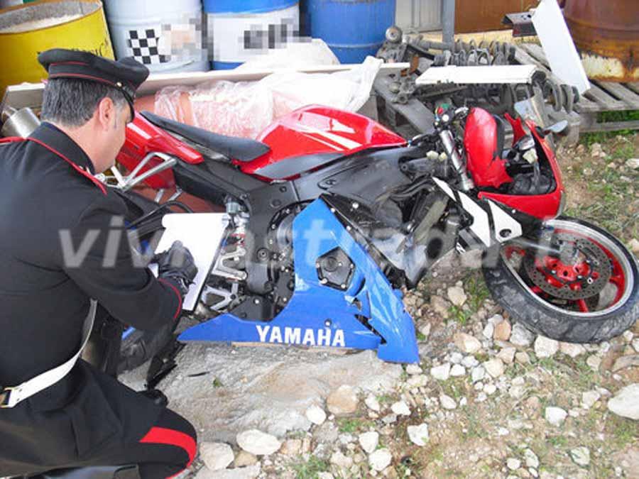 Moto contro guard-rail. Incidente mortale avvenuto a Monopoli l'1 maggio 2009