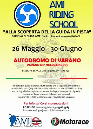 AMI Riding School - Corso di Guida in Pista a Varano (PR) - 26 Maggio 2014