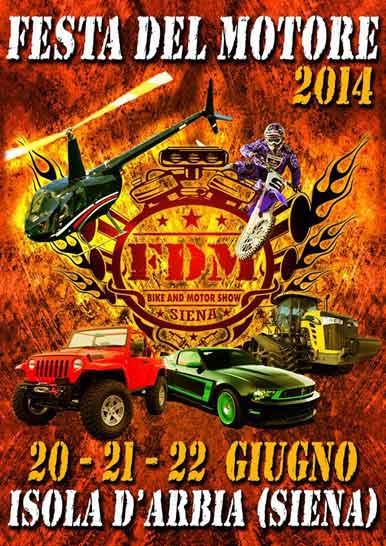 Festa del Motore 2014 - Locandina