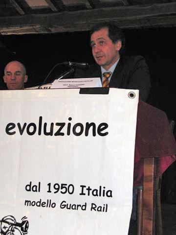 Primo Meeting Motociclistico sulla Sicurezza Stradale Settembre 2005 - dott. Giuseppe Guccione - Presidente F.I.S.I.C.O.