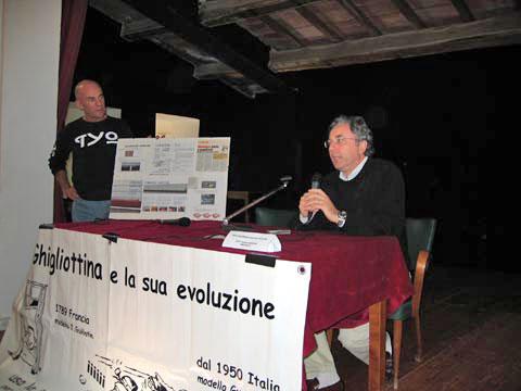 Primo Meeting Motociclistico sulla Sicurezza Stradale Settembre 2005 - dott. Massimo Magrini - Sindaco Comune di Radicofani