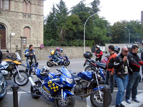 Primo Meeting Motociclistico sulla Sicurezza Stradale Settembre 2005 - Sosta 'tecnica'