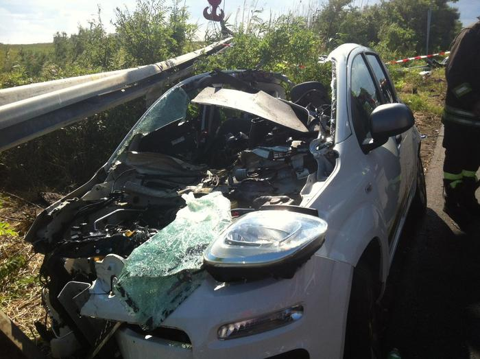 Vasto (Chieti) - incidente con due morti tra Abruzzo e Molise