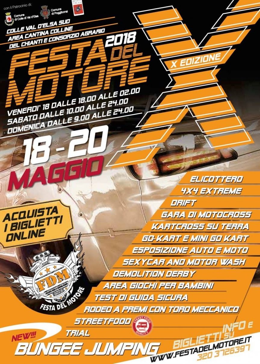Festa del Motore 2018 - Colle Val d'Elsa