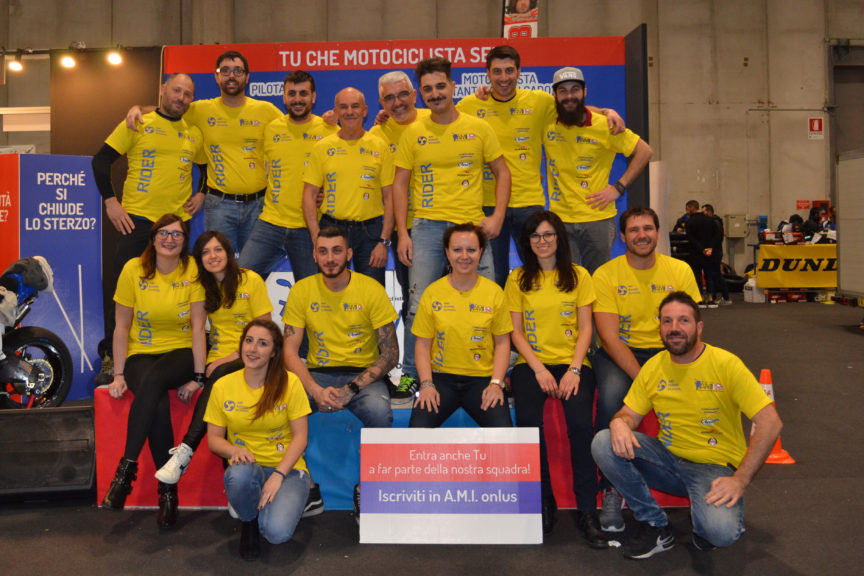 Il grupo di volontari di A.M.I. Onlus